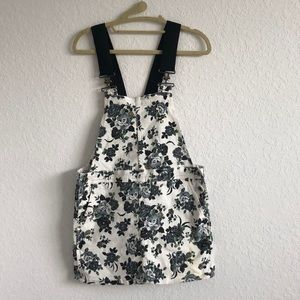 Floral Overall Dress
